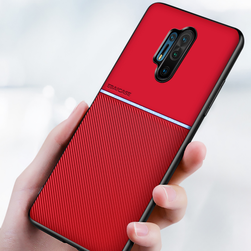 Load image into Gallery viewer, OnePlus 8 Pro Carbon Fiber Twill Pattern Soft TPU Case