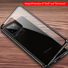 Load image into Gallery viewer, Galaxy A71 (Front+Back) Protection Magnetic Fit Case
