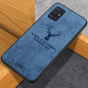 Load image into Gallery viewer, Galaxy M Series Deer Pattern Inspirational Soft Case