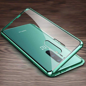 OnePlus 8 Pro Electronic Auto-Fit (Front+ Back) Glass Magnetic Case