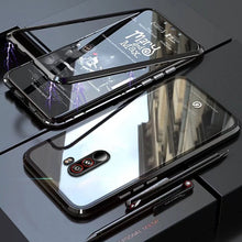 Load image into Gallery viewer, Mi Poco F1 Electronic Auto-Fit Magnetic Transparent Glass Case