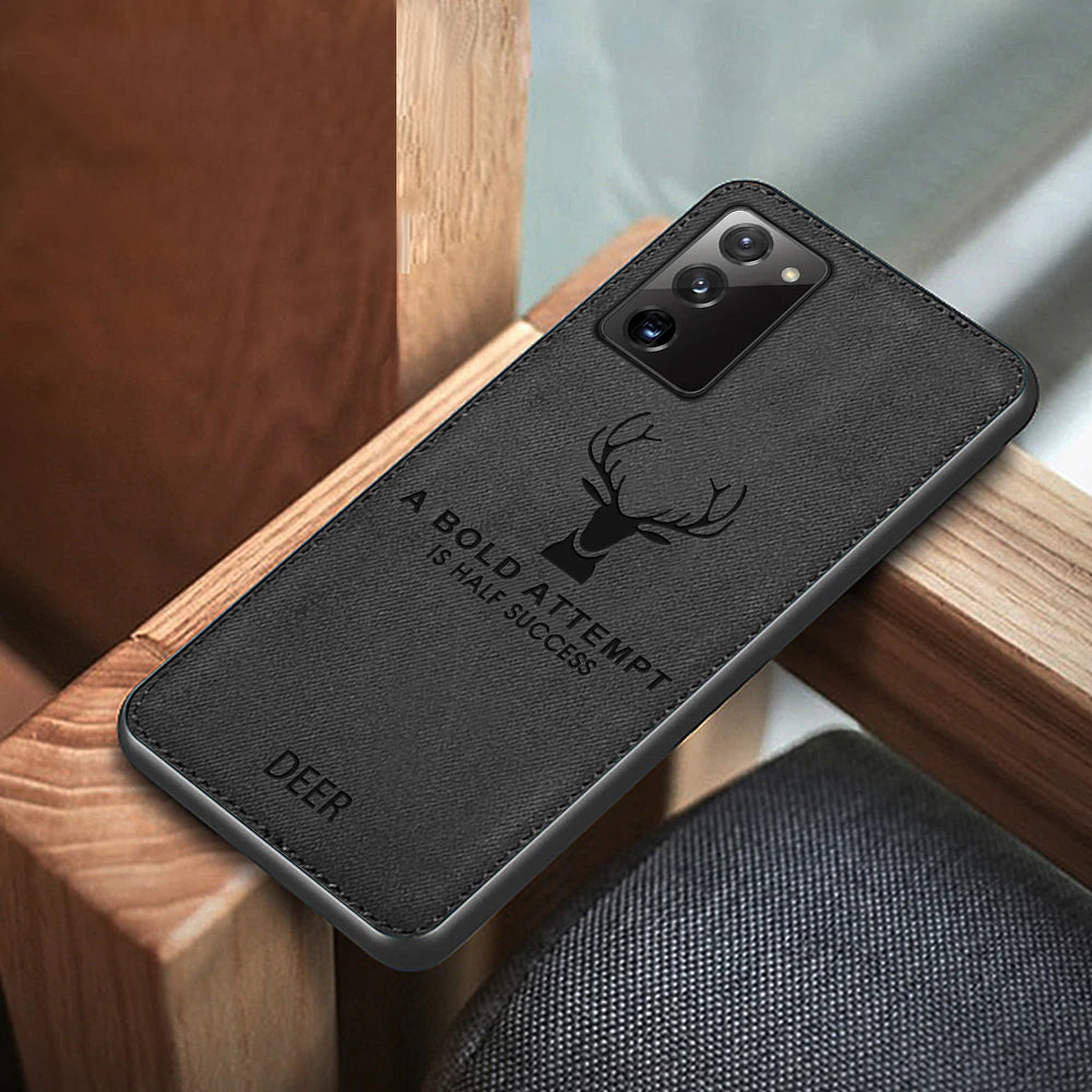 Galaxy Note 20 Deer Pattern Inspirational Soft Case