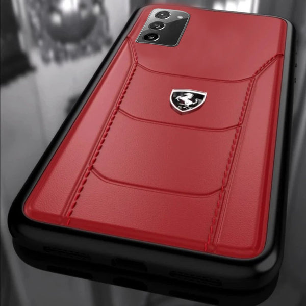 Ferrari ® Galaxy Note 20 Genuine Leather Crafted Limited Edition Case