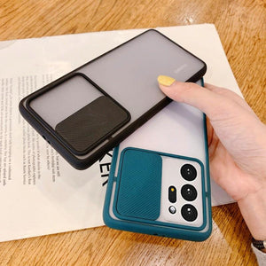 Galaxy Note 20 Ultra Camera Lens Slide Protection Matte Case