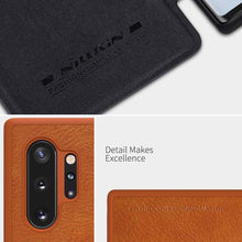 Load image into Gallery viewer, Galaxy Note 10 Plus Genuine QIN Leather Flip Case