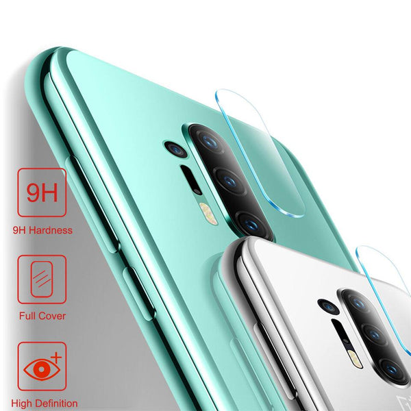 OnePlus 8 Pro (3 in 1 Combo) Portable 5000 mAh Battery Shell Case + Tempered Glass + Camera Lens Guard