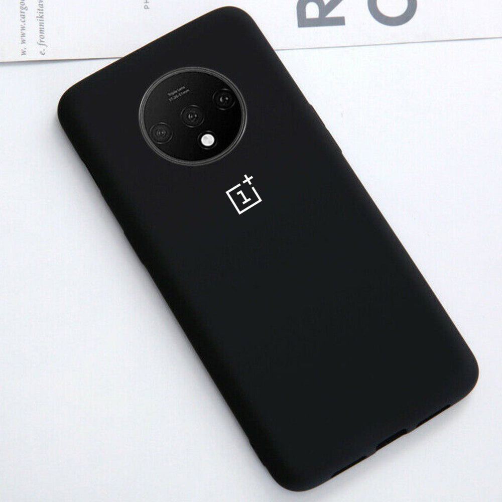 Load image into Gallery viewer, OnePlus 7T Liquid Silicone Logo Case