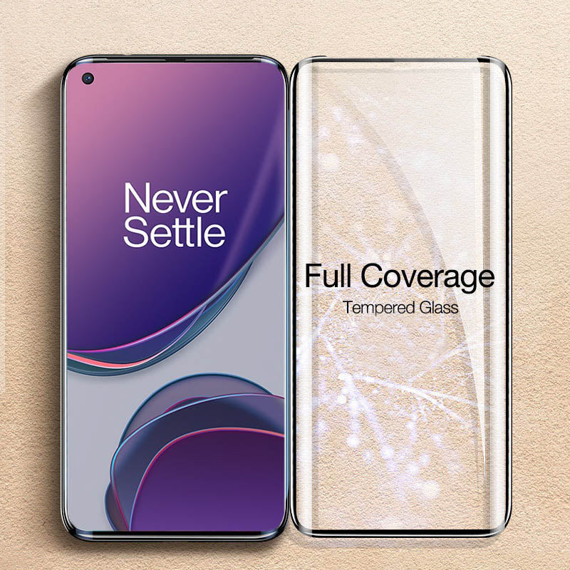 OnePlus Series Full Coverage Curved Tempered Glass