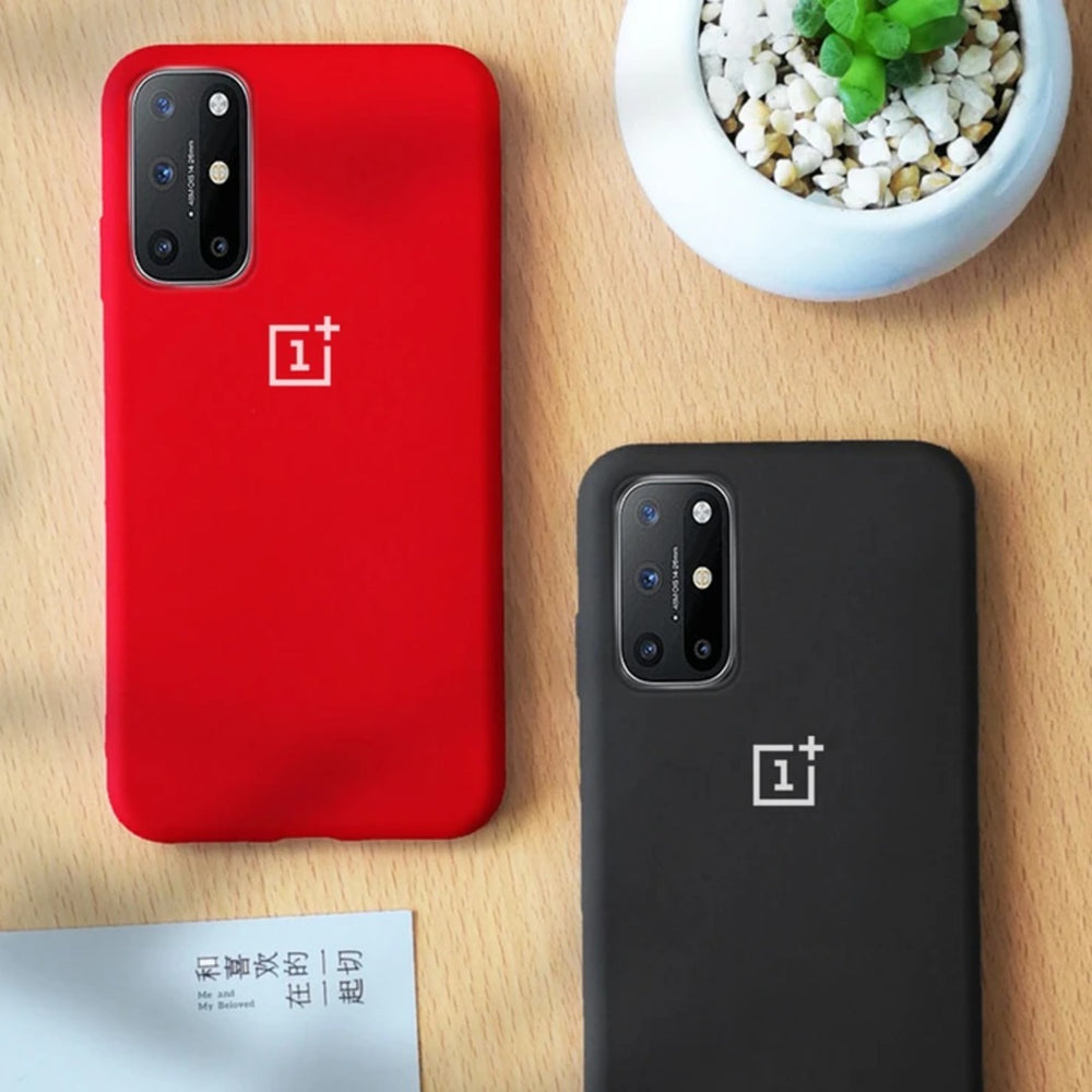 Load image into Gallery viewer, OnePlus 8T Liquid Silicone Logo Case