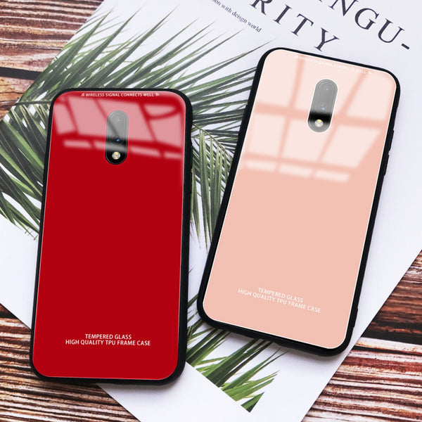 Soft Edge Silicone Back Case Cover for OnePlus 7
