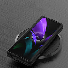Load image into Gallery viewer, Galaxy Z Fold2 Luxury Leather Foldable Case