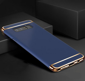 Galaxy Note 8 Metal Plating Hard Back Case