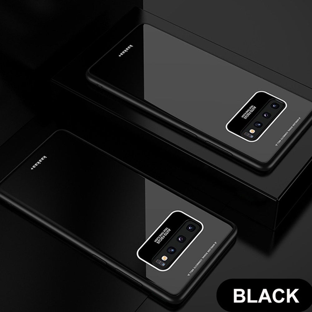 Load image into Gallery viewer, Galaxy S10 Plus Luxury Soft Edge Acrylic Case