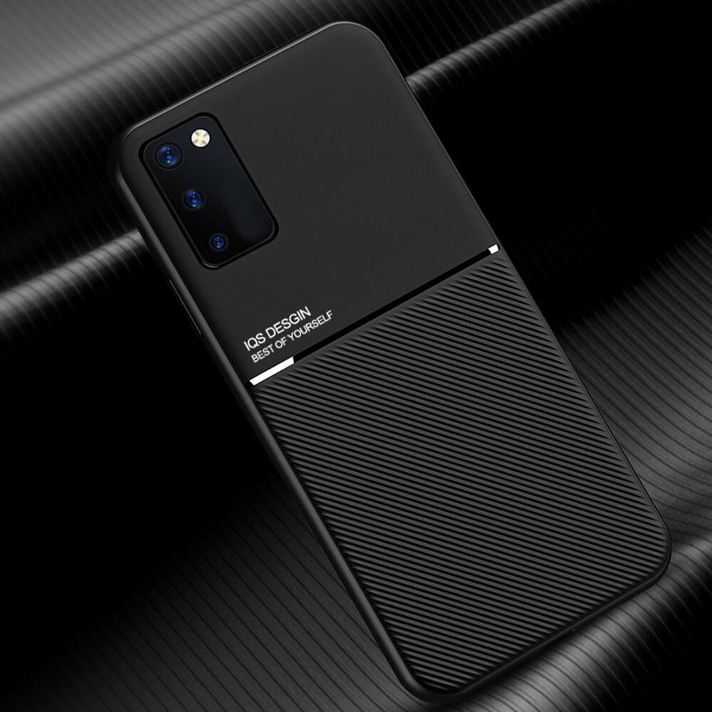 Galaxy S20 Carbon Fiber Twill Pattern Soft TPU Case
