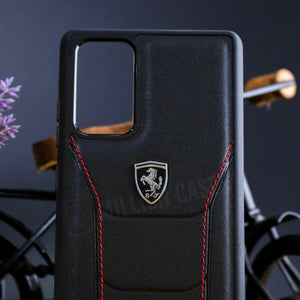Ferrari ® Galaxy S20 Ultra Genuine Leather Crafted Limited Edition Case