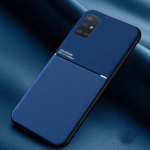 Galaxy M31s Carbon Fiber Twill Pattern Soft TPU Case