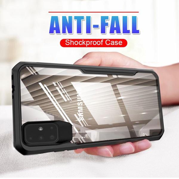 Galaxy A51 Shockproof Transparent Back Eagle Case
