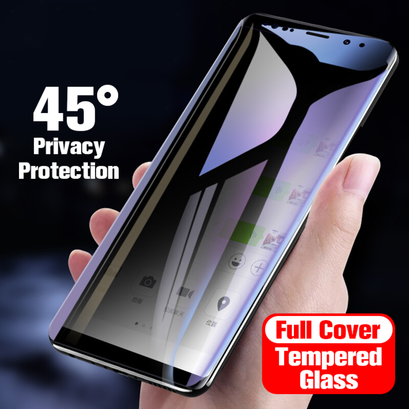 Galaxy S9 Privacy Tempered Glass [Anti- Spy Glass]