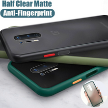 Load image into Gallery viewer, OnePlus 8/8 Pro Matte Silicone Shockproof Armor Case