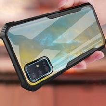 Load image into Gallery viewer, Galaxy A71 Shockproof Transparent Back Eagle Case