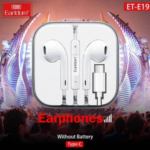 Load image into Gallery viewer, Earldom ® Type-C Wired Stereo Earphones
