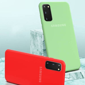 Galaxy S20 Plus Silky Soft-Touch Silicone Logo Case