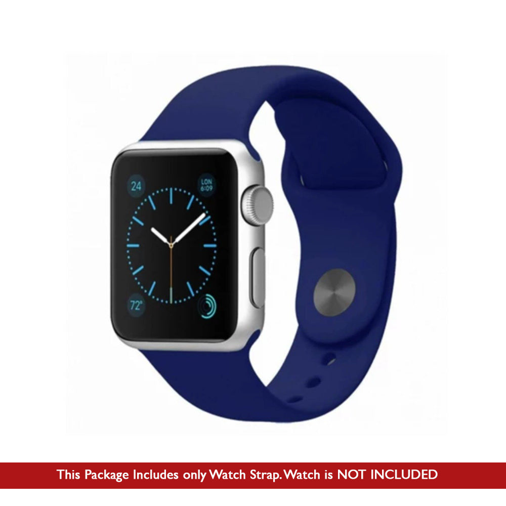 Silicone Strap for Apple Watch (ONLY STRAP NOT WATCH)
