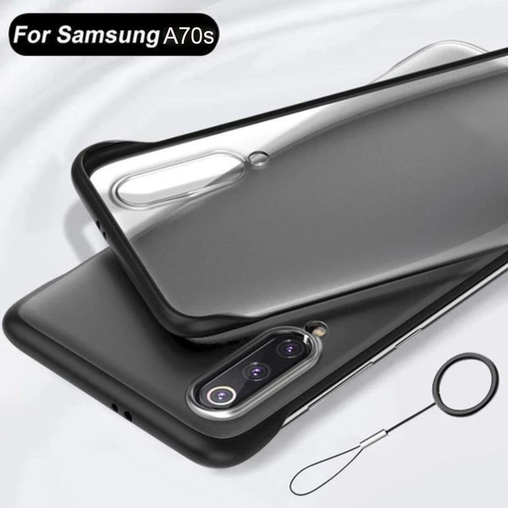 Load image into Gallery viewer, Galaxy A70s Luxury Frameless Transparent Case