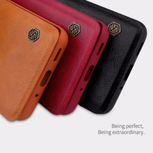 Load image into Gallery viewer, Galaxy S20 Genuine QIN Leather Flip Case
