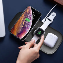 Load image into Gallery viewer, MK ® WiWU Power Air 3 in 1 Wireless Charging Pad