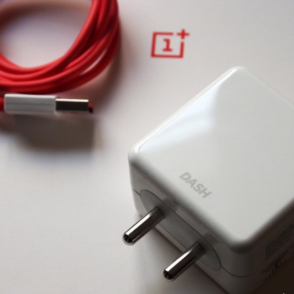 OnePlus Dash Power Adapter And Type-C USB Cable