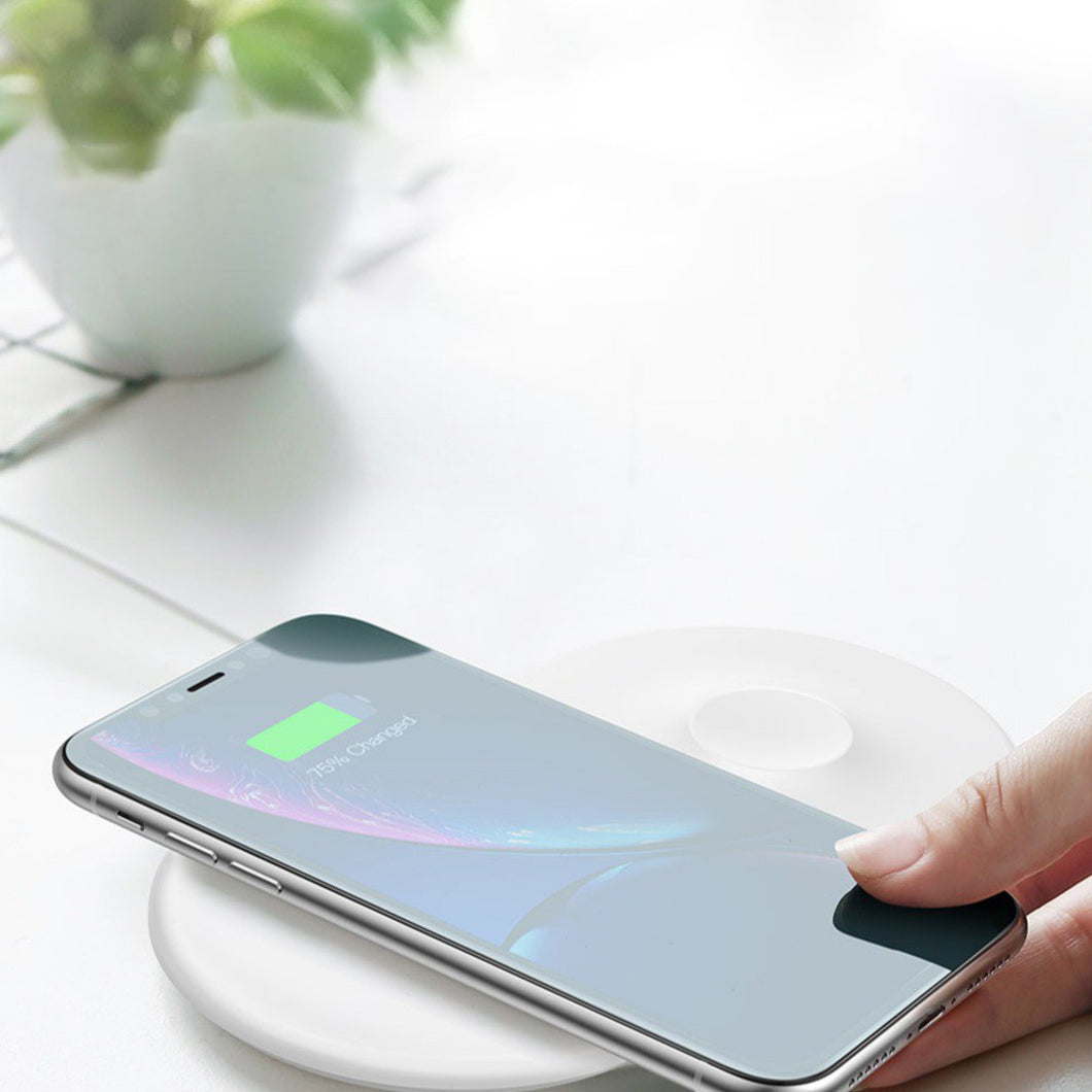 MK ® Baseus Smart 2in1 Wireless Charger