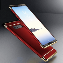 Load image into Gallery viewer, Galaxy Note 8 Metal Plating Hard Back Case