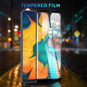 Galaxy A30s Ultra HD Full Coverage Tempered Glass