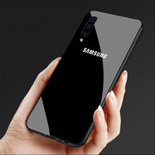 Load image into Gallery viewer, Galaxy A70 Special Edition Logo Soft Edge Case