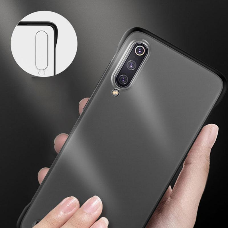 Galaxy A70s Luxury Frameless Transparent Case