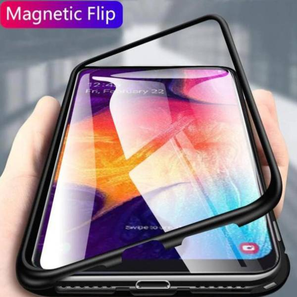 Galaxy M40 Electronic Auto-Fit Magnetic Glass Case