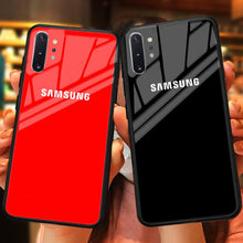 Load image into Gallery viewer, Galaxy Note 10 Plus Special Edition Logo Soft Edge Case