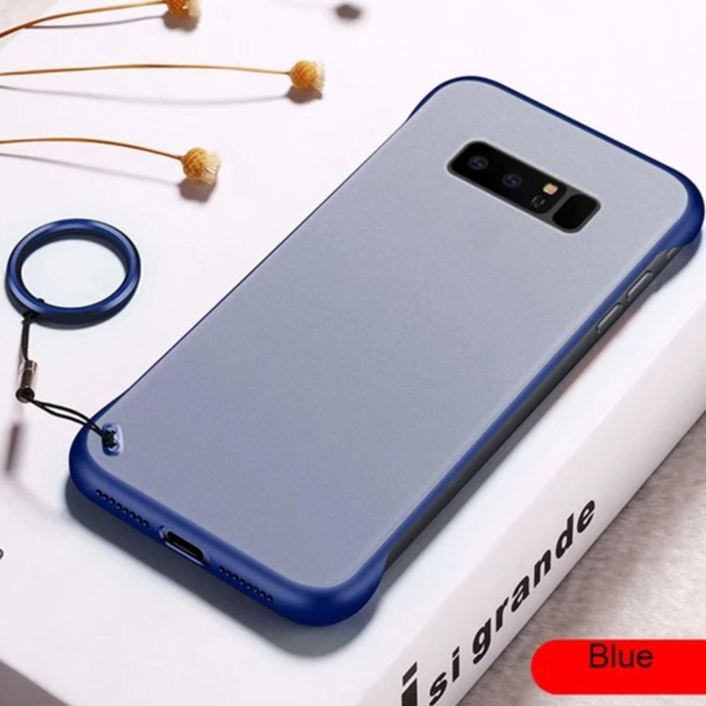 Galaxy Note 8 Luxury Frameless Transparent Case