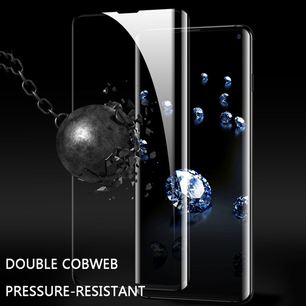 Galaxy S10 Ultra HD Full Coverage Tempered Glass