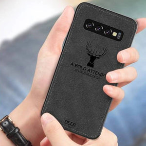 Galaxy Note 8 Deer Pattern Inspirational Soft Case