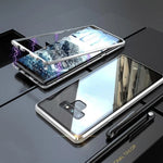 Galaxy Note 9 Electronic Auto-Fit Magnetic Glass Back Case