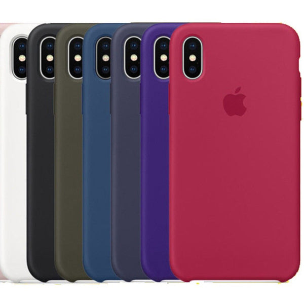 iPhone X Original Silicone Logo Case