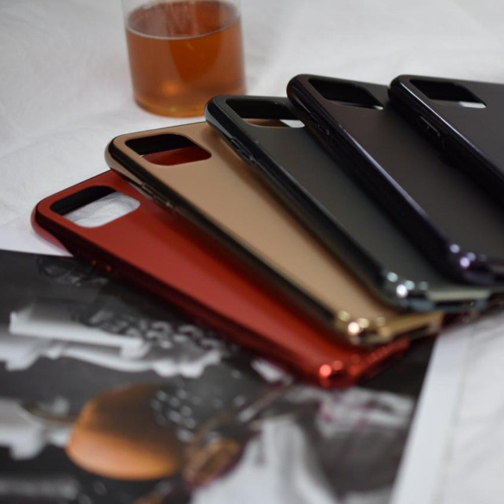 Soft Edge Matte Finish Glass Case Cover iPhone 11
