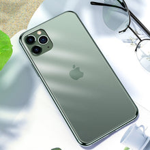 Load image into Gallery viewer, Soft Edge Matte Finish Glass Case Cover For iPhone 11 Pro