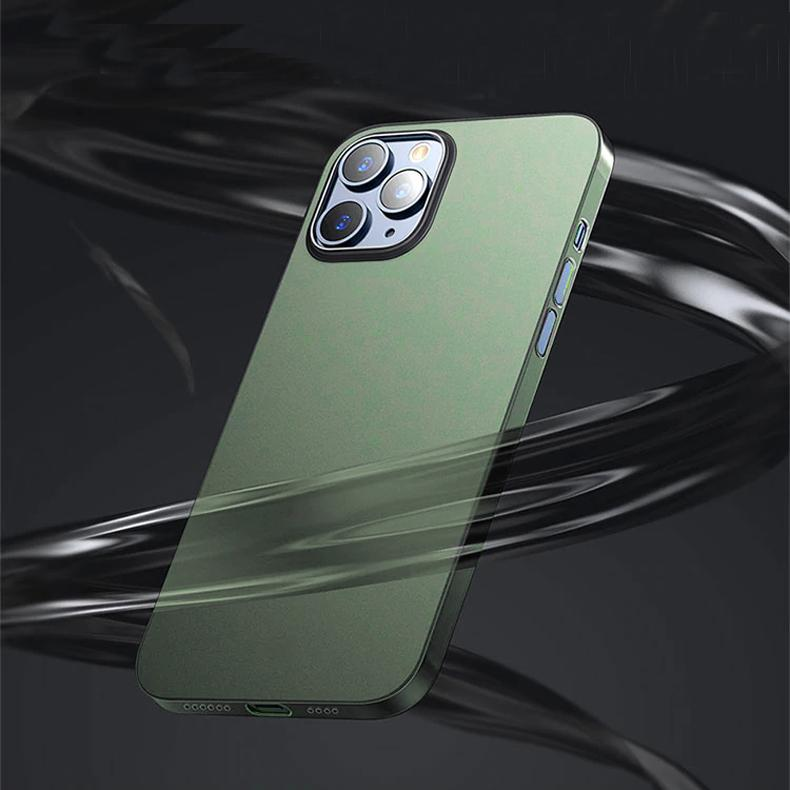 iPhone 12 Pro Ultra-Thin Matte Paper Back Case