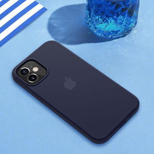 Load image into Gallery viewer, iPhone 12 Liquid Silicone Logo Case