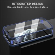 Load image into Gallery viewer, iPhone 12 Pro (Front+Back) Hybrid Design Fiber Case