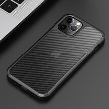 Load image into Gallery viewer, iPhone 12 Pro Opaque Matte Carbon Fiber TPU Armor Case