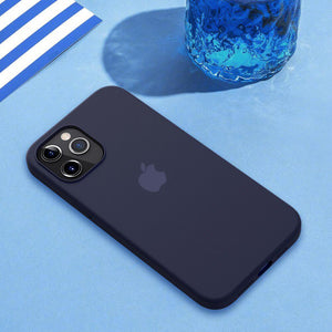 iPhone 12 Pro Max Original Silicone Logo Case